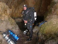 Jose Exposito 15-3-2015 buceando en cueva del moraig