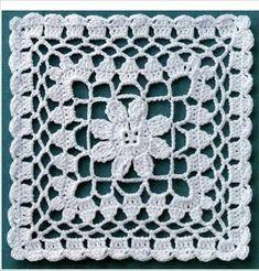 Letras e Artes da Lalá: Squares/quadradinhos de crochê (fotos: google)