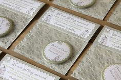 Save the date magnet with packaging_BIRDCAGE