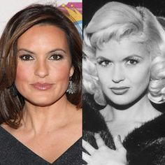 Mariska Hargitay posted a split photo showing exactly how similar she looks to her late mother, actress Jayne Mansfield. Hollywood Glamour, Hollywood Stars, Classic Hollywood, Old Hollywood, Jayne Mansfield, Mariska Hargitay, Francoise Hardy, Actrices Hollywood, Goldie Hawn