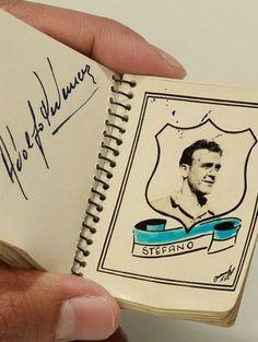 Album Fotografico Millonarios Campeón 1949 - Alfredo Di Stefano Don Juan, Carp, Football, Amor, Football Pictures, Legends, Sports, Soccer, Futbol