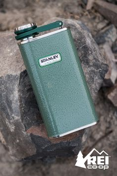 You never know when a swig might suit you. From stocking to mountain peak, the Stanley Classic flask is a great holiday gift for the explorer on your list. Shop now at REI.com.
