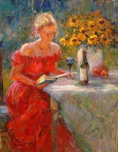 """Sunday Afternoon"" by Diane Leonard re-pinned by: http://sunnydaypublishing.com/books/"