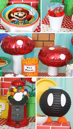Super Mario Party Ideas regarding Trending - Birthday Ideas Make it Super Mario Party, Super Mario Bros, Super Mario Birthday, Mario Birthday Party, 6th Birthday Parties, Birthday Ideas, Mario Bros Cake, Super Mario Cake, Super Mario Brothers