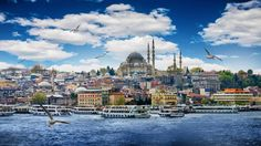 Places to visit in Turkey - Istanbul, Turkey's Biggest City  The only city in the world that straddles two continents, it is full of colour, verve, and contradiction: a silent clash of tradition and modern; reserve and cosmopolitan; and yes, where East does actually West