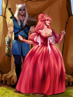 What would Finn and Princess Bubblegum look like all grown up?