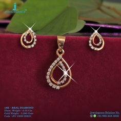 Real Diamond 18k Luxury Design Get in touch with us on +919904443030