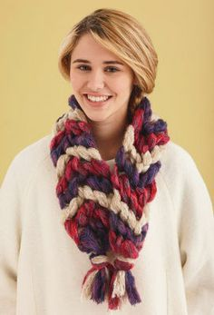 Lion Brand® Imagine® Friendship Scarf