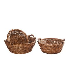 Take a look at this Dark Willow Tray Set by Wilco on #zulily today!