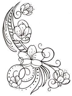 Swirl Tattoo on Pinterest