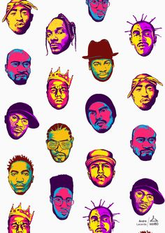 This post is part of our daily series of posts showing the most inspiring images selected by some of the Abduzeedo's writers and users. Tupac Wallpaper, Rapper Wallpaper Iphone, Arte Do Hip Hop, Hip Hop Art, Snoop Dogg Music, Hip Hop Tattoo, Pop Art, Arte Dope, Hip Hop And R&b