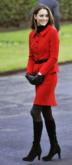 Princess Kate, I would have out a ring on that too.