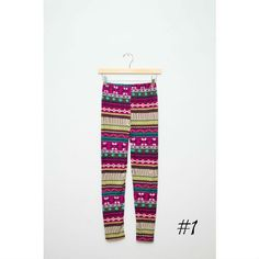 I am in LOVE with these aztec leggings from Brickyard Buffalo! They will be mine :)