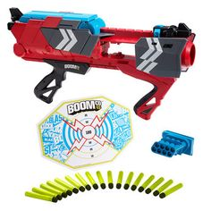 BOOMco Stealth Ambush Blaster Ha, I bet daddy would get as much of a kick out of these as L. Milk Jug Igloo, Water Guns, Nerf Party, Nerf Gun, Custom Guns, Nightmare On Elm Street, Big Kids, Holiday, Christmas