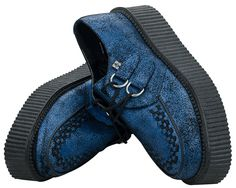 Blue Creeper Shoes