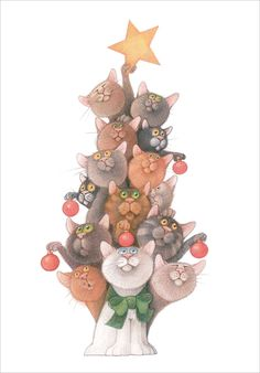 Kitty Tree! Linnea Design Love, love, love this!