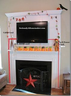 Great ways to hide tv cords