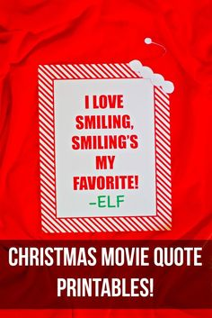 Merry Christmas all! One of my favorite Christmas traditions is watching my favorite Christmas movies. Today I will be showing you some fun Christmas movie quote printables for a fun Christmas movie night. I picked a couple of my favorites because I couldn't pick just one. I did narrow it down to my top three! …Read more...