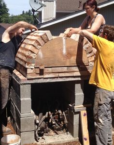 Kiln building at Deb Schwartzkopf and George Rodriguez's studio in Seattle, Washington. Their studio is featured in the March 2015 issue of Ceramics Monthly.