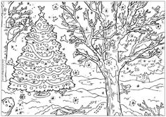 christmas puzzle coloring pages for adults
