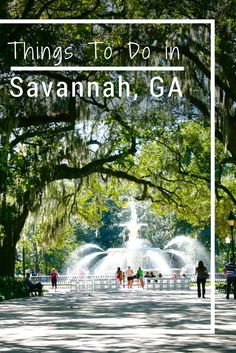 I had a few days to explore the city and found plenty of Things to do in Savannah.