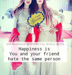 Me and my sis Good Friends Are Hard To Find, Crazy Friends, Friends In Love, Love Friendship Quotes, Friendship Thoughts, Crazy Girl Quotes, Girly Quotes, Besties Quotes, Friend Quotes