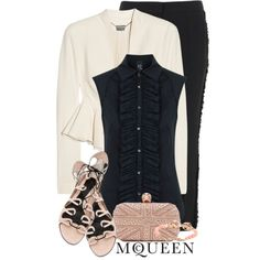 saraband + black, created by monchanel on Polyvore