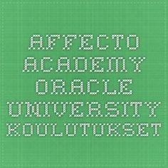 Affecto Academy - Oracle University -koulutukset