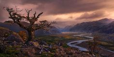 American photographer Marc Adamus lives in the small town of Corvallis, Oregon. Despite a modest choice of residence of the photographer known around the world Ushuaia, Patagonia, Oregon, Rule Of Thirds, Pathways, Small Towns, Cool Places To Visit, South America, Kayaking