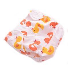 ของดี  Amango Reusable Baby Cloth Diaper Washable Size Adjustable Duck  ราคาเพียง  163 บาท  เท่านั้น คุณสมบัติ มีดังนี้ Material:cotton& Pattern:5 to choose(duck,dog,car,blue dot,pink dot)& 100% brand new and high quality&
