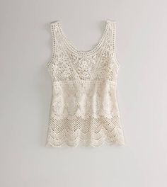 crocheted cool. #lace #summer #fashion