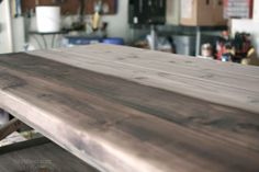 {finishing} How to oxidize wood – steel wool and vinegar. Some people add coffee grounds to mixture for a warmer color.
