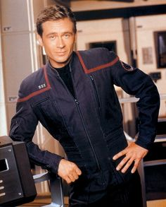 "Charles ""Trip"" Tucker III; played by Connor Trinneer. I had a huge crush on him! :)"
