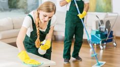 There are some types of cleaning services. These types include Residential cleaning services, Carpet cleaning services and Commercial cleaning services.