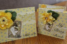 Mothers Day Card and Brag Book  Gift 4x4 by HotCocoaPhotoBooks, $6.99