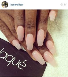 Interesting twist on trendy stiletto nails