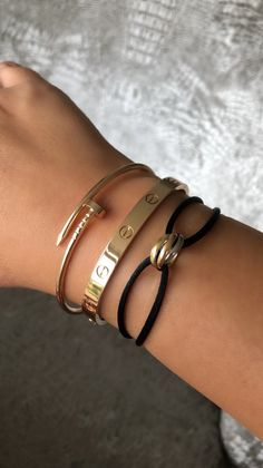 cartier juste un clou bracelet - Click this image to show the full-size version. Cartier Trinity Bracelet, Cartier Nail Bracelet, Cartier Jewelry, Jewelery, Diamond Jewellery, Hand Jewelry, Cute Jewelry, Jewelry Accessories, Love Bracelets