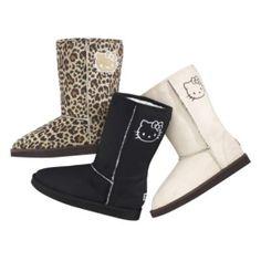 Hello Kitty snow boots<3<3