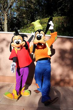 Max and Goofy
