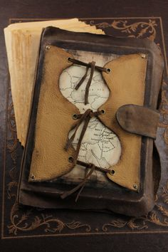 Old World Leather Journal  Handcrafted Leather by CatChristie, $58.88