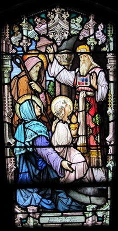 Dedication of Mary as a Temple Virgin  with St. Anne & St. Joachim