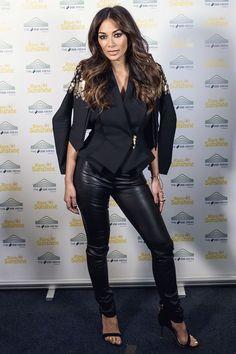 "letthecocklead: "" Indian beauty queens looks. Leather Trousers, Leather Leggings, Nicole Scherzinger, Girl Blog, Skinny Pants, Wearing Black, Leather Fashion, Indian Beauty, Women Wear"