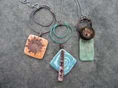 One of a Kind Jewelry for One of a Kind You: New Work