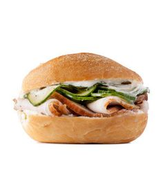Roast Pork and Pickled Cucumber Sandwich | RealSimple.com