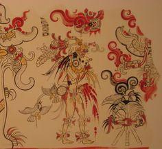 Las 51 Mejores Imagenes De Murales Mayas Aztec Art Mayan Tattoos