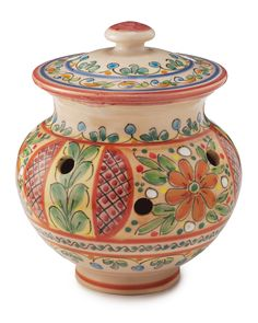 GARLIC JAR | Ceramic, Kitchen Accessory, Tools, Spice Container, Seasoning, Flavor, Utensil, Traditional Spanish Ceramic, Paella | UncommonGoods