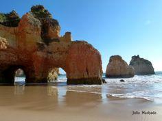 Praínha de Alvor, no Algarve
