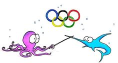 olympic octopus and swordfish fencing Sword Fight, Thank You Quotes, Shark Week, Google Images, Octopus, The Dreamers, Olympics, Fence, Sports