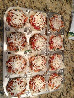 Hungry girl Lasagna cups