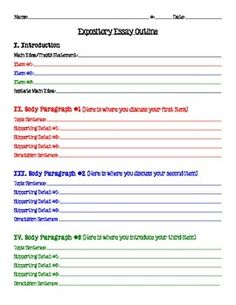 trying to teach the five paragraph essay in your homeschool expository essay outline 5 paragraph essay